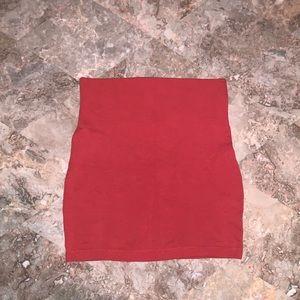 Burnt orange skirt 💥